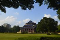 孙中山纪念堂主体建筑拍摄图