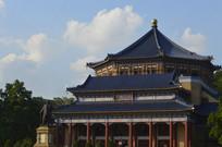 孙中山纪念堂主体建筑摄影图