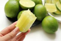 无籽柠檬高清图片