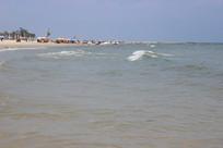 夏日北海银滩