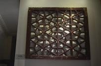 中式木格栅窗