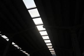 白塔公园铁路纪念厂天花板