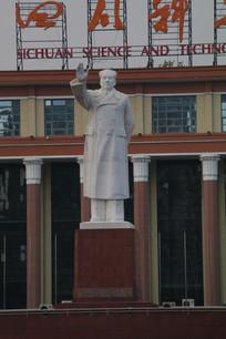 成都天府广场毛主席像