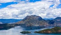 泸沽湖的风景