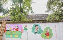 民间壁画墙绘展示