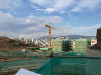 吊塔脚手架房地产工地
