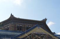广州中山纪念堂屋檐一角