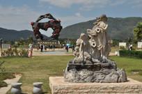 海南玫瑰谷雕塑