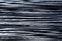 一堆螺纹钢筋线条背景图片