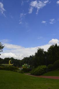 云台花园谊园风景