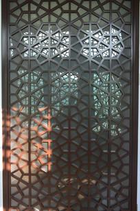 中式格栅窗