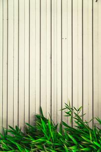 竹叶枝上凹凸背景墙图片