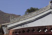 传统古建筑屋顶