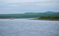 额尔古纳河游船