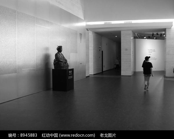 刘海粟美术馆展厅图片