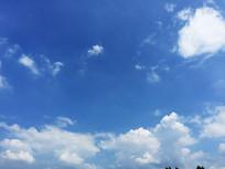 清新梦幻的天空