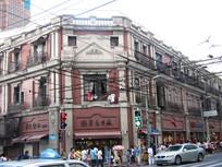 上海南京路的民国欧式建筑