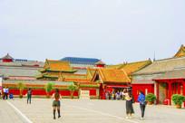 沈阳故宫出口与建筑群