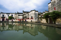 中国清明时节水乡