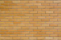 黄色砖墙背景纹理