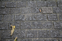 茅家埠青石块道路