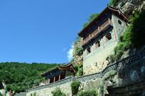山西白人岩寺建筑