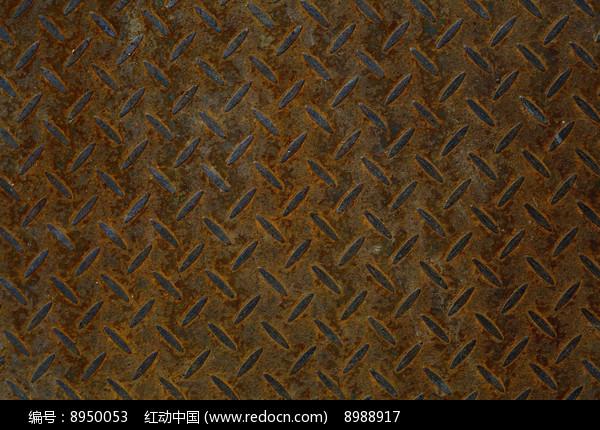 生锈防滑铁板背景素材高清图片下载 红动网图片