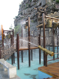 宋城的水上娱乐项目
