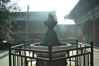 雍和宫庭院景观