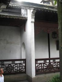 中式江南建筑长廊