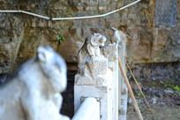 白人岩寺的生肖石刻