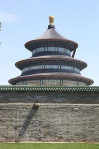 北京天坛外景
