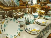 瓷器盘子展品