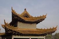 古建筑顶部