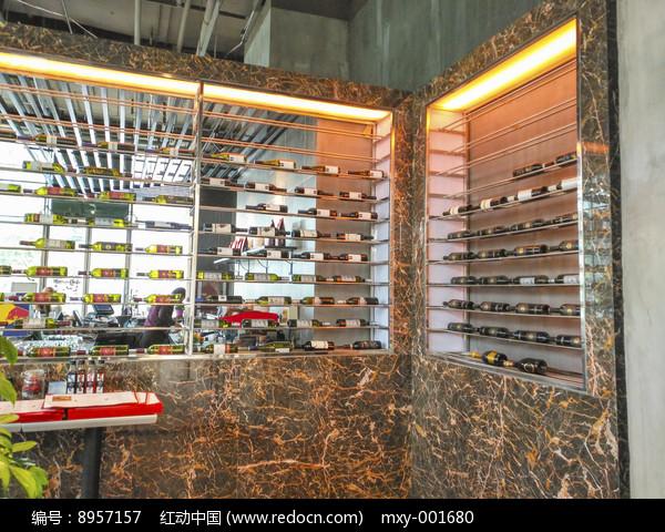 红酒展柜高清图片下载 红动网