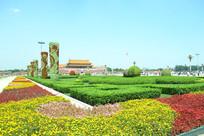 天安门广场花坛