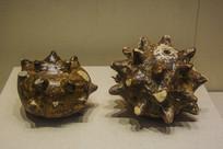 西夏文物瓷蒺藜