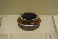 西夏文物褐釉釜