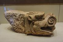 西夏文物石螭首