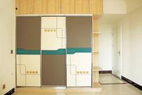 免漆板组合衣柜