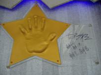 白岩松手印与签名