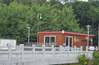 广州儿童公园桥边治安亭