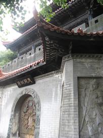古建筑上的浮雕装饰