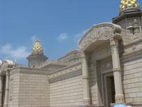 精美的梵宫外景