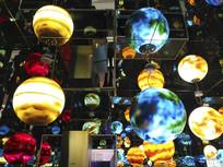 梦幻空间彩球