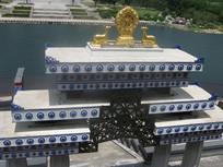 西藏寺庙风格大门