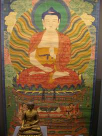 藏传佛教唐卡文物