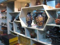 各种花瓶与工艺装饰品