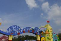 广州儿童公园大门标志