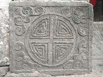 古建筑上的石刻